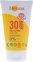 Düfte, Parfümerie und Kosmetik Sonnenschutzcreme für Kinder SPF 30 - Derma Eco Baby Mineral SPF 30