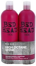 Düfte, Parfümerie und Kosmetik Haarpflegeset - Tigi Bed Head Racharge (Shampoo 750ml + Conditioner 750ml)