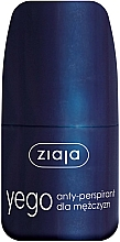 Düfte, Parfümerie und Kosmetik Deo Roll-on Antitranspirant - Ziaja Anti-perspirant for Men