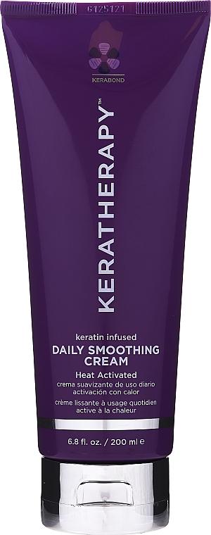 Wärmeaktivierende Föhncreme mit Keratin - Keratherapy Daily Smoothing Cream