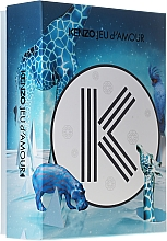 Düfte, Parfümerie und Kosmetik Kenzo Jeu d'Amour - Duftset (Eau de Parfum 50ml + Körpermilch 50ml + Duschgel 50ml)
