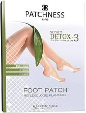 Düfte, Parfümerie und Kosmetik Entgiftende und reinigende Fußpatches - Patchness Foot Patch