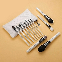Düfte, Parfümerie und Kosmetik Make-up Pinselset - Eigshow Beauty Makeup Brush Master Bright Silver