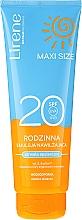 Düfte, Parfümerie und Kosmetik Bräunungsemulsion für den Körper - Lirene Sun Care Emulsion SPF20