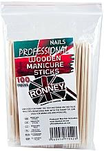 Düfte, Parfümerie und Kosmetik Holzige Manikürestäbchen 15 cm 100 St. - Ronney Professional