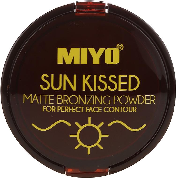 Bronzepuder - Miyo Sun Kissed Matt Bronzing Powder