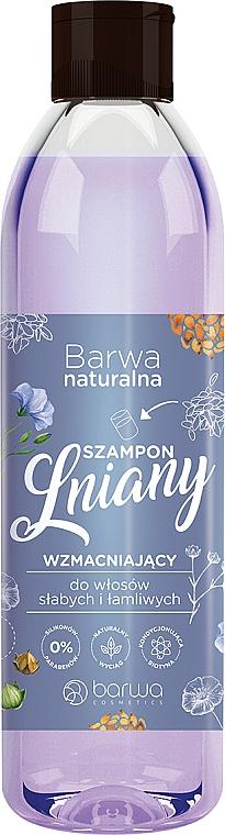 Shampoo mit Leinöl und Vitaminkomplex - Barwa Natural Flax Shampoo With Vitamin Complex