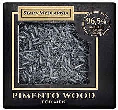 Düfte, Parfümerie und Kosmetik Festes Shampoo mit Pimentholz für Männer - Stara Mydlarnia Pimento Wood Shampoo Bar