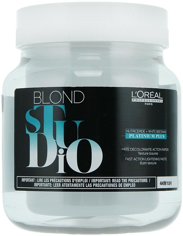 Aufhellende Haarpaste - L'Oreal Professionnel Blond Studio Platinium Plus