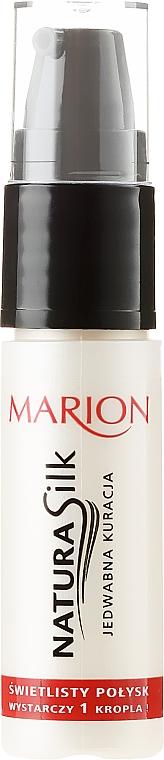 Seidenpflege für mehr Glanz - Marion Hair Natura Silk Jedwabna Kuracja