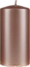 Düfte, Parfümerie und Kosmetik Dekorative Kerze Opal, Roségold - Artman Opal Candle Ø7xH14cm