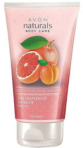 Glättendes Körperpeeling - Avon Naturals Pink Grapefruit & Apricot Body Scrub