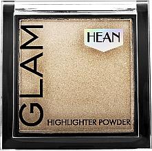 Düfte, Parfümerie und Kosmetik Kompakter Highlighter - Hean Glam Highlighter Powder