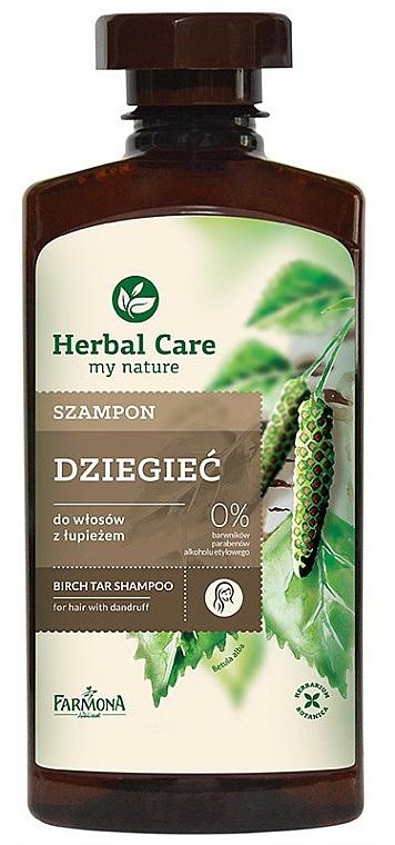 Anti-Schuppen Shampoo mit Birkenpech - Farmona Herbal Care Shampoo