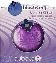 Düfte, Parfümerie und Kosmetik Badebombe Blaubeere - Bubble T Bath Fizer Blueberry