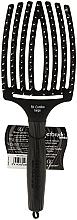 Düfte, Parfümerie und Kosmetik Massage- und Entwirrungsbürste groß - Olivia Garden Finger Brush Combo Large