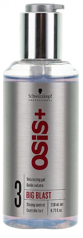 Haargel für mehr Volumen - Schwarzkopf Professional Osis Volumizing Gel Big Blast 3