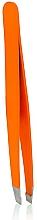 Düfte, Parfümerie und Kosmetik Pinzette 4108 schräg orange - Donegal Slant Tip Tweezers NEON PLAY