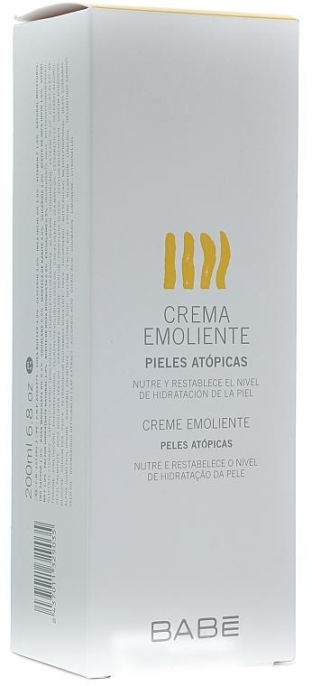 Feuchtigkeitsspendende und aufweichende Körpercreme für trockene Haut - Babe Laboratorios Emollient Cream
