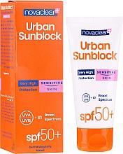 Düfte, Parfümerie und Kosmetik Sonnenschutzcreme für das Gesicht SPF 50+ - Novaclear Urban Sunblock Protective Cream Sensitive Skin SPF 50+