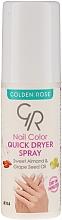 Düfte, Parfümerie und Kosmetik Nagellacktrockner-Spray - Golden Rose Nail Quick Dryer Spray