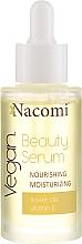 Düfte, Parfümerie und Kosmetik Nährendes und feuchtigkeitsspendendes Gesichtsserum mit Vitamin E - Nacomi Beauty Serum Nourishing & Moisturizing Serum