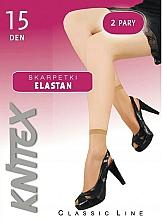 Düfte, Parfümerie und Kosmetik Kurze Damensocken Elastan 15 Den Visone 2 Paare - Knittex