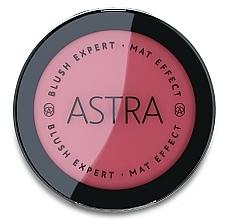 Düfte, Parfümerie und Kosmetik Mattierendes Gesichtsrouge - Astra Make-Up Blush Expert Mat Effect