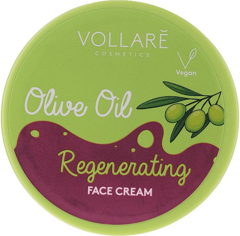 Regenerierende Gesichtscreme mit Olivenöl - Vollare Regenerating Olive Oil Face Cream