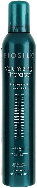 Styling-Schaumfestiger Mittlerer Halt - BioSilk Volumizing Therapy Styling Foam