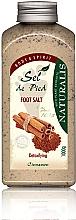 Düfte, Parfümerie und Kosmetik Detox Fußbadesalz mit Zimt - Naturalis Sep de Pied Cinnamon Foot Salt