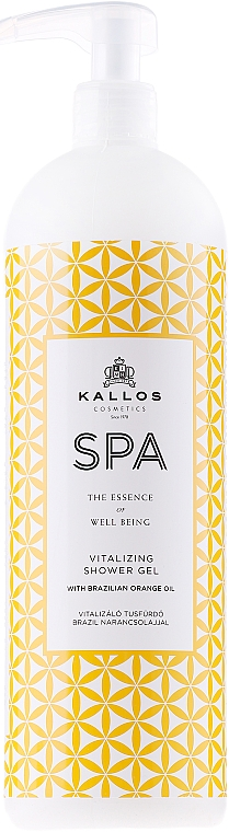 Erfrischendes Duschgel - Kallos Cosmetics Spa Vitalizing Shower Gel