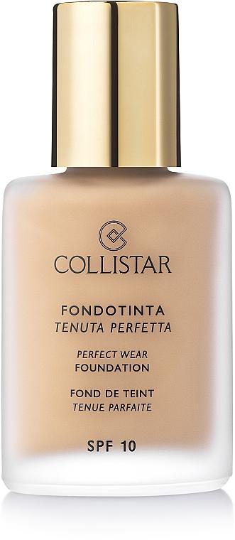 Wasserfeste Foundation LSF 10 - Collistar Perfect Wear Foundation SPF 10