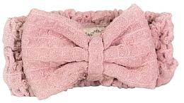 Düfte, Parfümerie und Kosmetik Kosmetisches Haarband aus Mikrofaser rosa - Nacomi