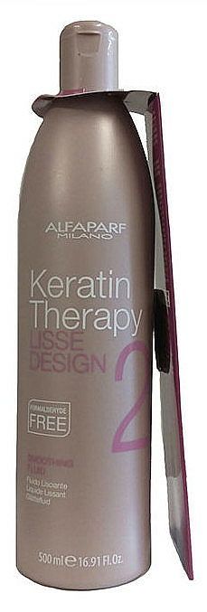 Haarglättungsfluid mit Keratin - Alfaparf Lisse Design Keratin Smoothing Fluid