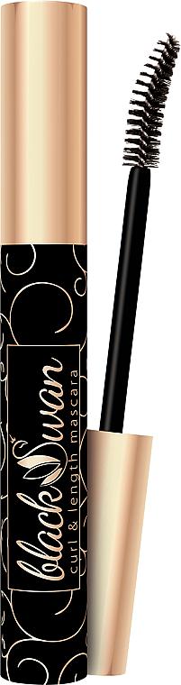 Mascara für geschwungene und lange Wimpern - Dermacol Black Swan Mascara