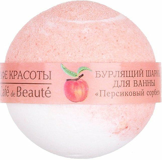"""Badebombe """"Pfirsichsorbet"""" - Le Cafe de Beaute Bubble Ball Bath — Bild N1"""