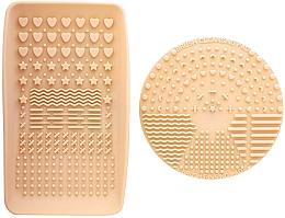 Düfte, Parfümerie und Kosmetik Make-up Pinselreiniger - Nanshy Makeup Brush Cleaning Pad & Palette