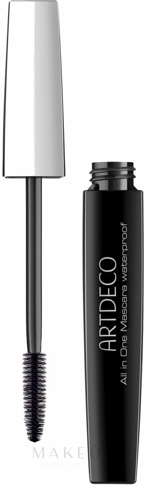Wasserfeste Mascara - Artdeco All in One Mascara Waterproof — Bild Black
