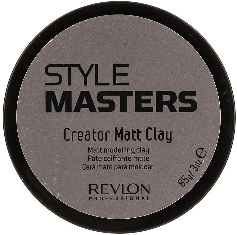 Mattierende Tonerde für das Haar Starker Halt - Revlon Professional Style Masters Creator Matt Clay