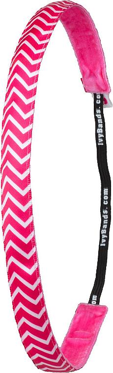 Haarband Chevron Pink - Ivybands