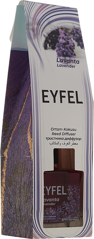 Raumerfrischer Lavender - Eyfel Perfume Lavender Reed Diffuser