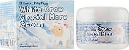 Düfte, Parfümerie und Kosmetik Aufhellende und feuchtigkeitsspendende Anti-Falten Gesichtscreme - Elizavecca Face Care Milky Piggy White Crow Glacial More Cream