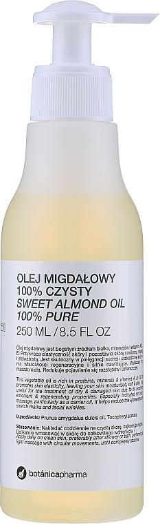 100% Reines Mandelöl für Gesicht, Körper und Haar - Botanicapharma Oil 100%