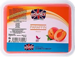 Düfte, Parfümerie und Kosmetik Paraffinwachs mit Pfirsichduft zur Behandlung von Händen und Füßen - Ronney Paraffin Peach