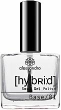 Düfte, Parfümerie und Kosmetik Nagelunterlack - Alessandro International Hybrid Soul Gel Polish Base Coat