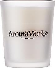 Düfte, Parfümerie und Kosmetik Soja-Duftkerze im Glas mit Litsea Cubeba- und Sandelholzduft - AromaWorks Nurture Candle