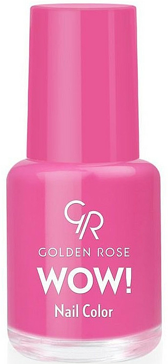 Nagellack - Golden Rose Wow Nail Color