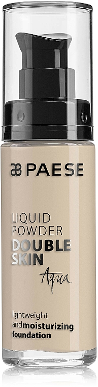 Leichte feuchtigkeitsspendende Foundation - Paese Liquid Powder Double Skin Aqua