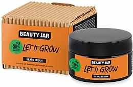 Düfte, Parfümerie und Kosmetik Bartcreme mit Kokosnussöl, Bienenwachs und Weizenproteinen - Beauty Jar Let It Grow Beard Cream